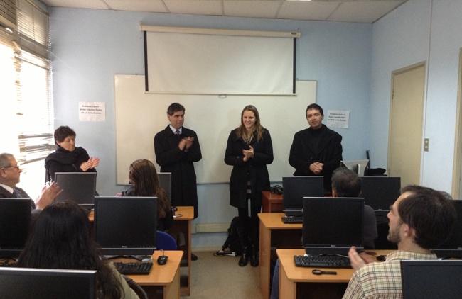 Representantes de Senadis y Uncich dan inicio al taller sobre uso del NVDA